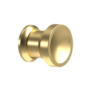 "Contemporary Knob, Chalice, 1"" Diam. - PVD Polished Brass Product Image"