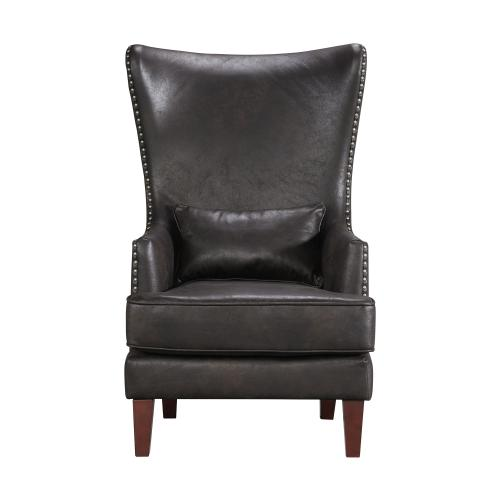 Product Image - Kori Chair with Chrome Nails In Sierra Espresso