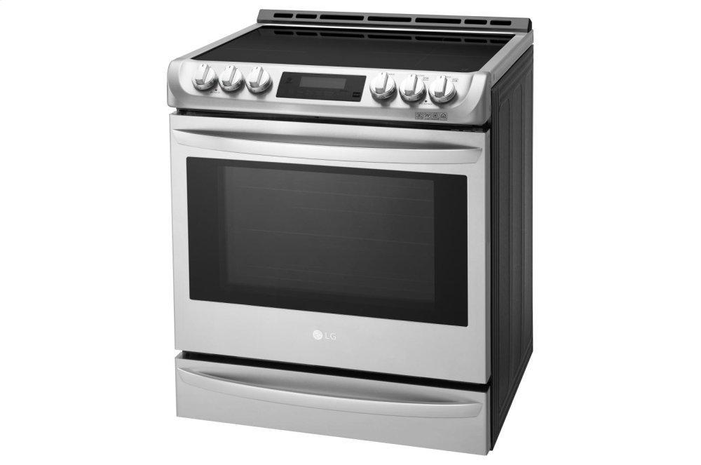 6.3 cu. ft. Smart wi-fi Enabled Induction Slide-in Range with ProBake Convection® and EasyClean® Photo #3