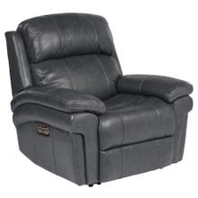 See Details - Luxe Leather Power Reclining Armchair with Articulating Headrest