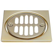 Deluxe Shower Drain Trim Kit - Stainless Steel