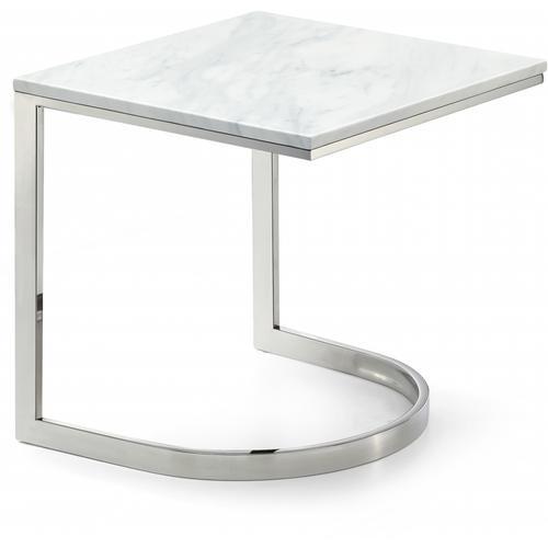 "Copley Chrome End Table - 20"" W x 20"" D x 21"" H"