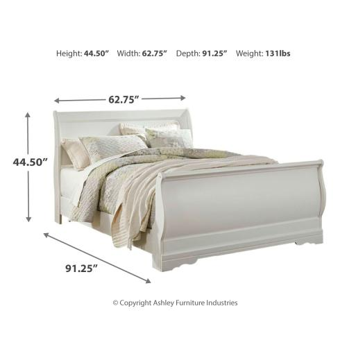 Anarasia Queen Sleigh Bed