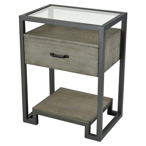 Stein World - Mezzanine 1-drawer Accent Table In Pewter