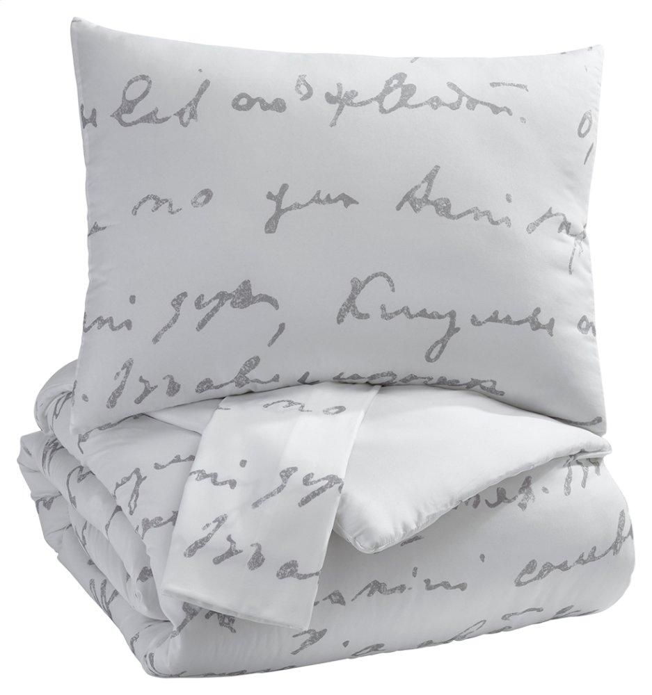 AshleyAdrianna 3-Piece King Comforter Set