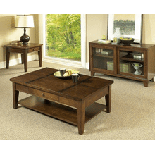 Walnut Coffee & End Table Set