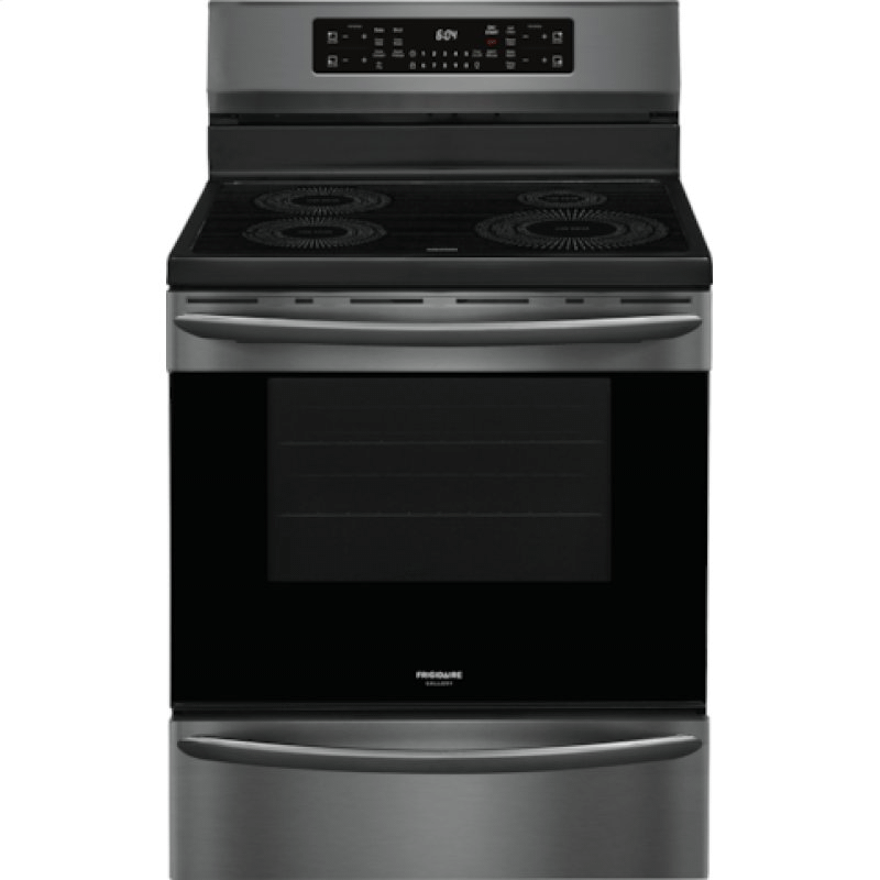 Gallery 30'' Freestanding Induction Range with Air Fry