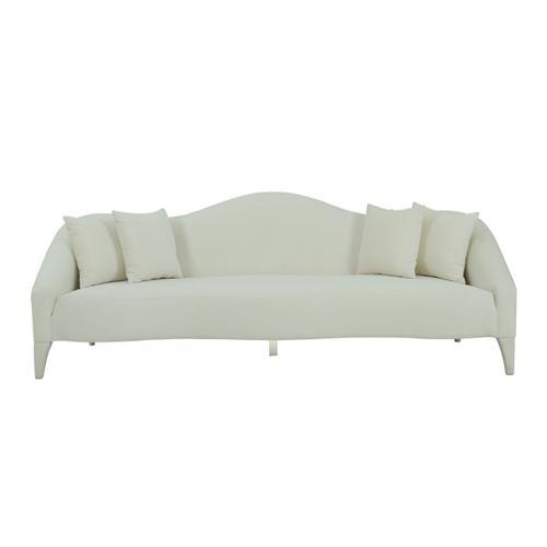 Naya Cream Velvet Sofa