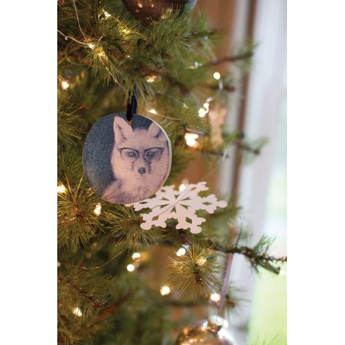 "3.5"" E+E Framily Portrait Ornament (Eloise Fox Option)"
