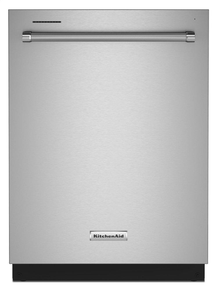 KitchenAid39 Dba Dishwasher In Printshield™ Finish With Third Level Utensil Rack - Stainless Steel With Printshield™ Finish