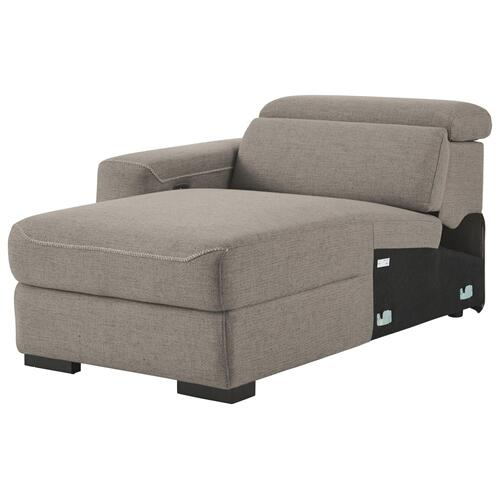 Mabton Left-arm Facing Press Back Power Chaise