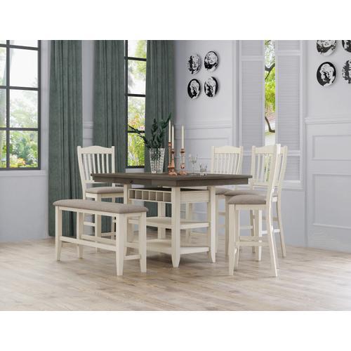 Buchanan Gathering Height Dining Table Top, Gray Brown 1147-1148-tpb4060
