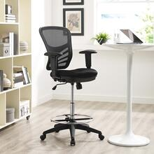 See Details - Articulate Drafting Chair in Black