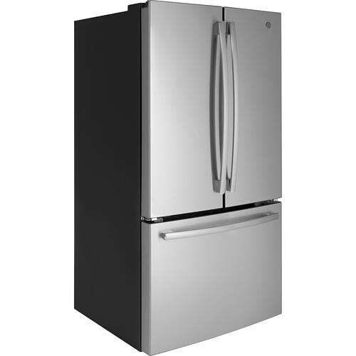 GE 26.7 Cu. Ft, French Door Refrigerator Stainless Steel - GNE27ESMSS