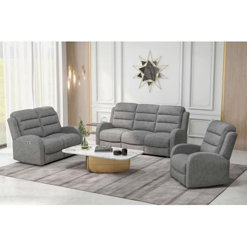 Gallery - Dual Power Recliner and Headrest