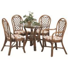 See Details - Trellis Round Dining Room Set