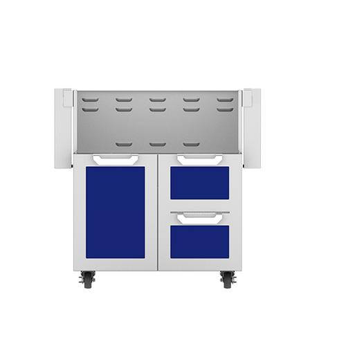 """30"""" Hestan Outdoor Tower Cart with Door/Drawer Combo - GCR Series - Prince"""