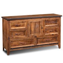 See Details - Rustic City 6 Drawer Dresser