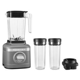 K150 3 Speed Ice Crushing Blender with 2 Personal Blender Jars - Matte Charcoal Grey