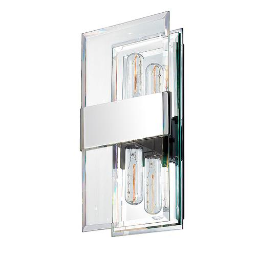 Sonneman - A Way of Light - Mercer Street Double Sconce [Color/Finish=Polished Chrome]