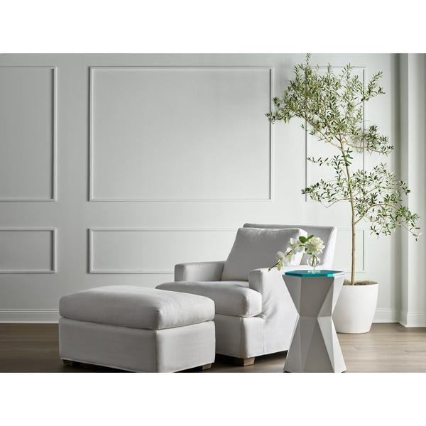 See Details - Malibu Slipcover Ottoman - Special Order