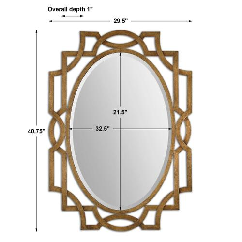 Margutta Oval Mirror