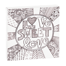"See Details - ""Love Sweet Love"" Magnet Block."