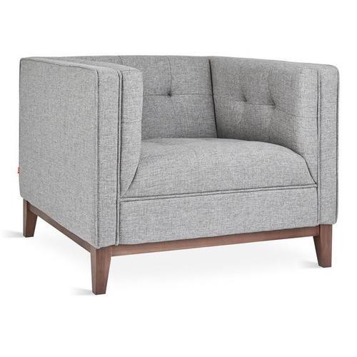 Atwood Chair Parliament Stone / Walnut
