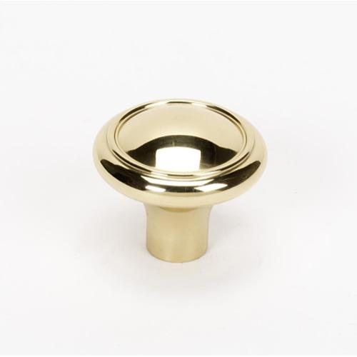 Classic Traditional Knob A1562 - Polished Brass