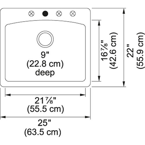 Product Image - Ellipse ESOX25229-1 Granite Onyx