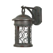 "9"" Wall Lantern - Dark Sky in Mediterranean Patina"