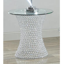 View Product - Crystal End Table W/led Lite