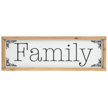 """""""Family"""" Wall Decor"""