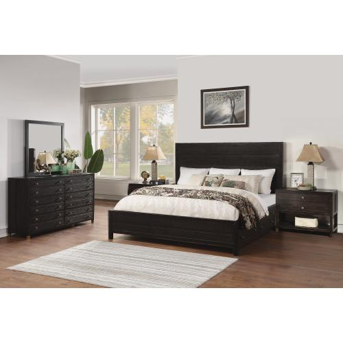 Cologne Queen Storage Bed