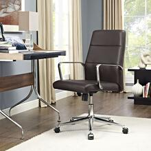 Stride Mid Back Office Chair in Brown