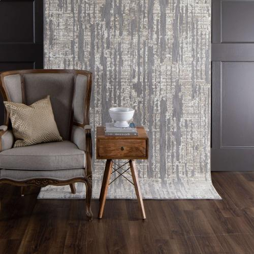 "Soiree Matrix Grey 9' 6""x12' 11"""