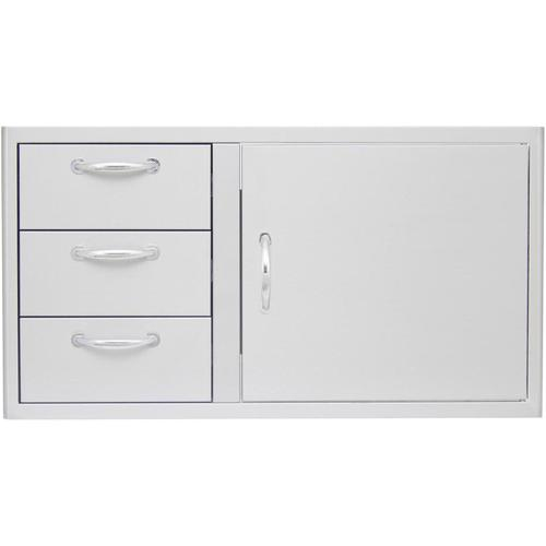 Product Image - Blaze 39 Inch Access Door and Triple Drawer Combo