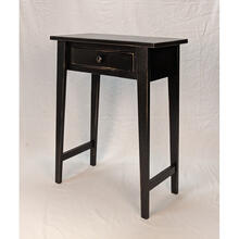 Hall Table - Vintage Black