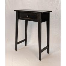 Hall Table - Vintage Black