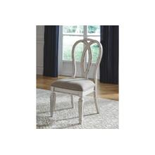 Realyn Dining UPH Side Chair Chipped White