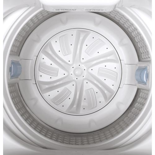 Space-Saving Stationary Washer with Stainless Steel Basket - 3.3 cu.ft. IEC
