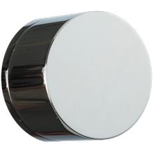 "Volume Control 1/2"" Trim Kit, RND, Equal Plate Matte Chrome/Black"