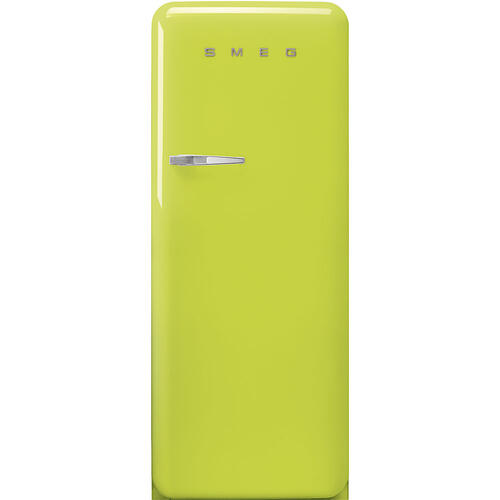 "24"" retro-style fridge, Lime green, Right-hand hinge"