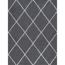 Jersey Shag - JRS1107 Gray Rug