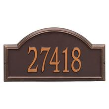 Providence Arch - Estate Wall - One Line - Antique Copper