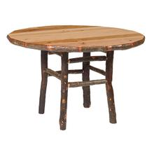 Round Dining Table - 54-inch - Natural Hickory