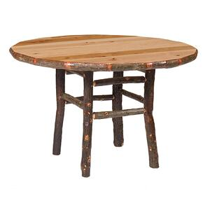 Round Dining Table - 48-inch - Cognac - Armor Finish