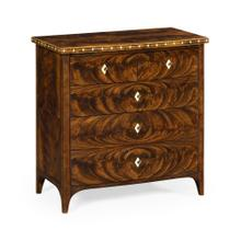 Small Chest of Drawers with Bone Inlay on Top