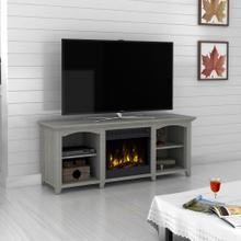 "Beau Ridge TV Stand for TVs up to 60"" with Electric Fireplace, Gray Oak"