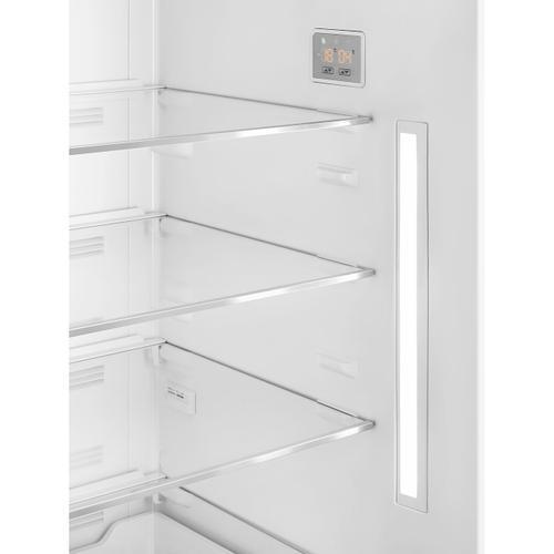 18 cu. ft. retro-style fridge, Pastel Blue, Right-hand hinge